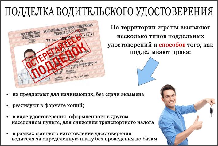 Как сделать поддельное водительское удостоверение