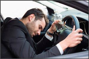 Лишение водительского удостоверения пьяного за рулем