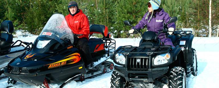 Нужны ли права на квадроцикл и снегоход