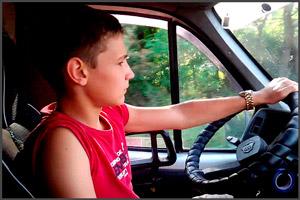 Самостоятельное обучение водить авто