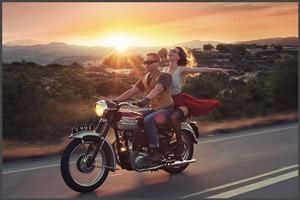 Сбор на мотоцикл