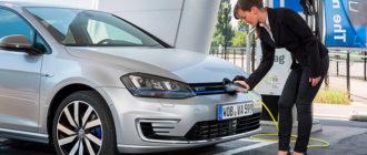 Пошлина за ввоз в Россию электромобиля