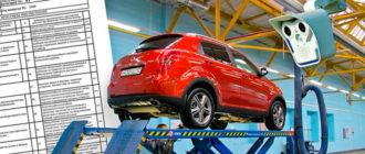 Регулярность проведения техосмотра для новой машины