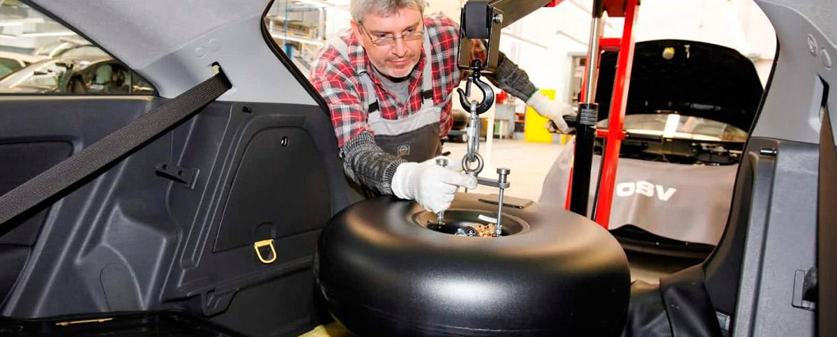 Демонтаж газового оборудования с автомобиля
