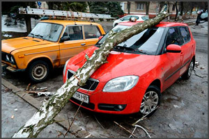 Воздействие природной стихии