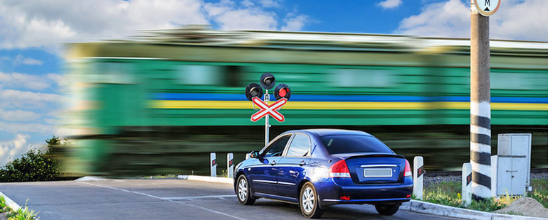 Как осуществляется движение через железнодорожные пути