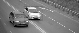 Наказание за проезд по разделительной полосе