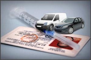 Лишение прав вождения за употребление наркотиков