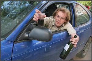 Запах алкоголя в машине