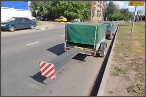 Нарушение правил по транспортировке грузов