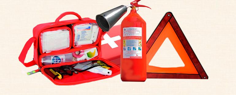 Штраф за езду без огнетушителя и аптечки