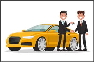 Арендодатель дает авто в аренду