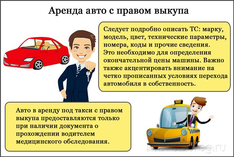 Арендовать авто с последующим выкупом