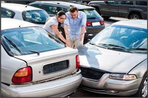 Авария при парковке