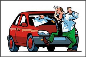Водитель получил компенсацию за ДТП